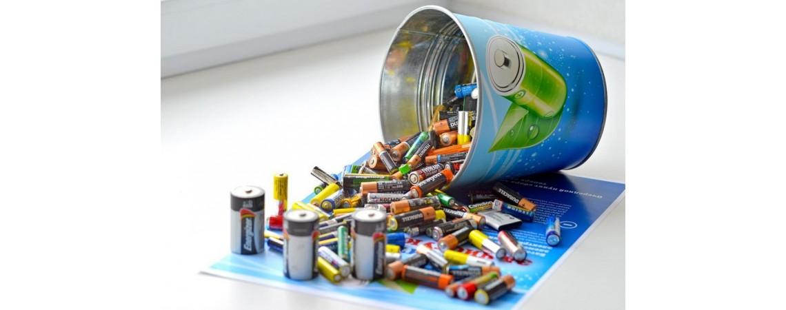 Утилизация аккумуляторных батареек: боремся за здоровье и экологию.